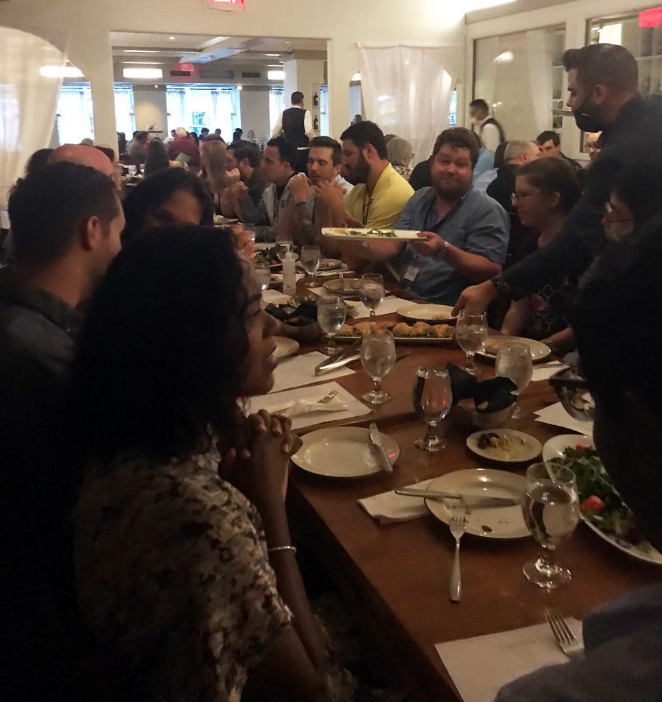 Group dinner at Kellari